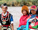 Colourful Ladakhi women