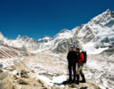 Khumbu glacier approaching Everest Base Camp