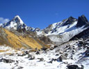 Near high camp, trekking towards Khayer Lake