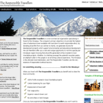 The Responsible Travellers website
